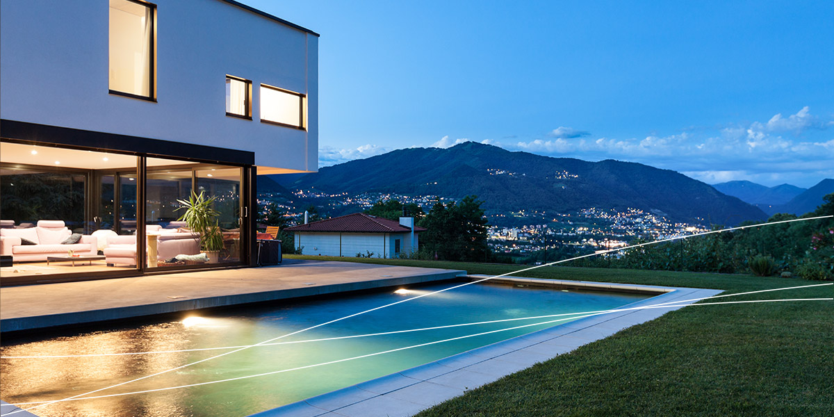 Residence with pool Switzerland